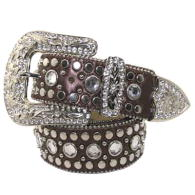WHOLESALE WESTERN RHINESTONE STUDDED BELT